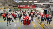 Ducati Multistrada V4 At Factory