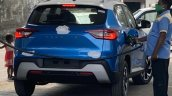 Nissan Magnite Rear Spy Shot