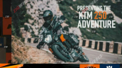 Ktm 250 Adventure Launch Presentation Leaked Image