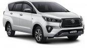 2021 Toyota Innova Crysta Facelift Front Right