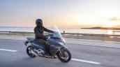 2021 Honda Forza 750 Action Shot