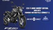 Yamaha Bluetooth Tech For Fzs Fi