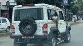 Bs6 Force Gurkha Spy Shot Rear Right