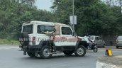 Bs6 Force Gurkha Spy Shot Right Side