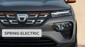 2020 Dacia Spring Electric European Market Debut D
