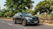 Hyundai Tucson Facelift Front 3 Quarters Action 2