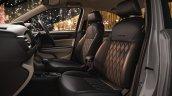 Honda Amaze Premium Suede Black Seat Cover