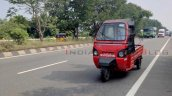 Mahindra E Alfa Mini Load Variant Spy Shot Front