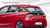 All New Hyundai I20 Rear Left