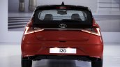 New Hyundai I20 Rear View