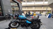 Royal Enfield Meteor 350 Supernova Blue Left Side