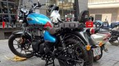 Royal Enfield Meteor 350 Supernova Blue Rear Left