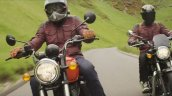 Royal Enfield Meteor 350 Action Shot