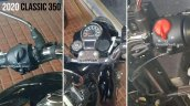Next Gen Royal Enfield Classic 350 Instrument Clus