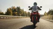 Triumph Tiger 850 Sport In Action