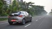 Hyundai I20 Tracking Rear 3 Quarters