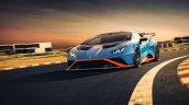 Lamborghini Huracan Sto On Track