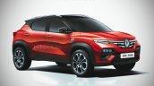 2021 Renault Kiger Render