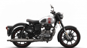 Royal Enfield Classic 350 Metallo Silver Right Sid
