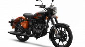 Royal Enfield Classic 350 Orange Ember Front Rt
