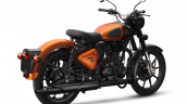 Royal Enfield Classic 350 Orange Ember Rear Rt