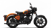 Royal Enfield Classic 350 Orange Ember Righ Side
