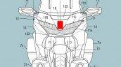 Honda Goldwing Radar Cruise Control Patent Picture