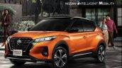 2021 Nissan Kicks Front Quarter