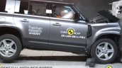 Land Rover Defender Safety Test 3