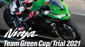Kawasaki Ninja Zx 25r Team Green Cup 2021