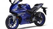 2021 Yamaha R3 Blue Front Left
