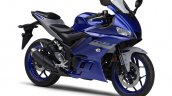 2021 Yamaha R3 Blue Front Right