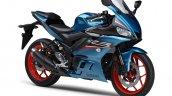 2021 Yamaha R3 Cyan Front Rt
