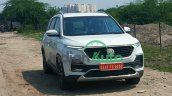 Mg Hector Facelift Spy Images 2