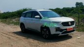Mg Hector Facelift Spy Images