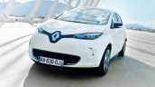 Renault Zoe In Action