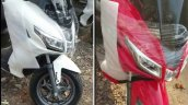 Aprilia Sxr 160 Spied At Dealership Yard