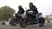 Husqvarna 250 Twins Acceleration Test