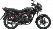 Honda Cb Shine 125 Black Right Side