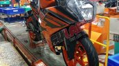 2021 Ktm Rc 200 Spied At Factory