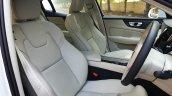2020 Volvo S60 Front Seats