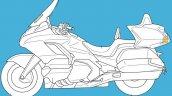 Honda Goldwing Rear Facing Radar