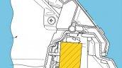 Honda Goldwing Rear Facing Radar Patent Image