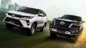 2021 Toyota Fortuner Facelift And Legender