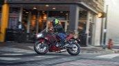 2021 Kawasaki Ninja 650 Red In Action