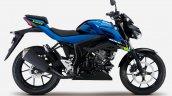 2021 Suzuki Gsx S125 Blue Right Side