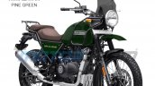 2021 Royal Enfield Himalayan Pine Green