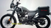 2021 Royal Enfield Himalayan Granite Black Left