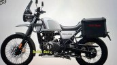 2021 Royal Enfield Himalayan Mirage Silver Left