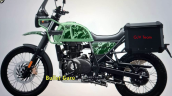 2021 Royal Enfield Himalayan Pine Green Left